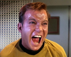 Shatner giving it all he's got!