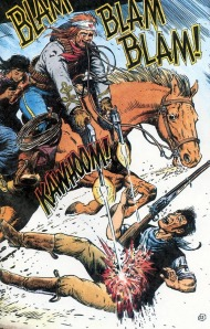 Jonah fights off the Posse.