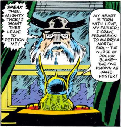 Odin commands Thor to end his love affair.