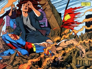 The death of Superman.