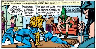 Rama-Tut defeats the Fantastic Four.