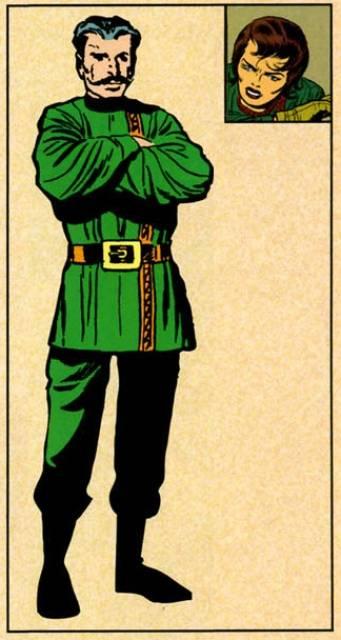 Comrade X in Drag.