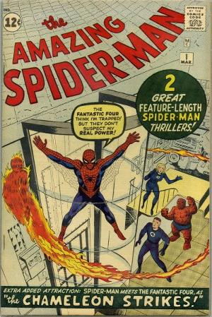 The Official First Spider-Man