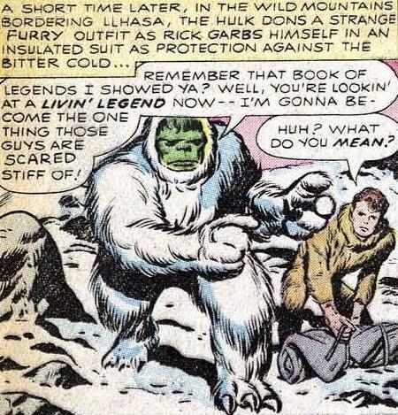 Hulk: The Abominable Snowman.