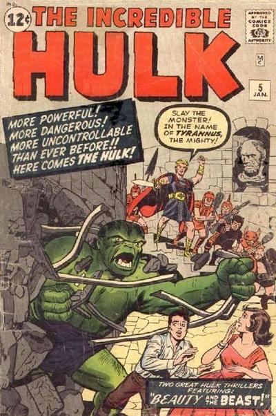 Look at how Hulk bursts through those Earth walls.