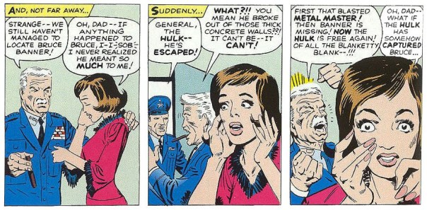 Ditko's art is expressive, and Betty has never looked better.