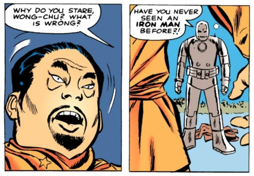 Wong-Chu and the wit of Iron Man