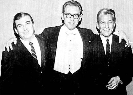 Robert Bernstein is the guy on the left.