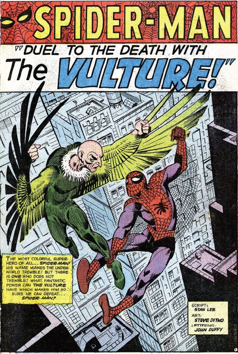 The Vulture vs. Spider-Man