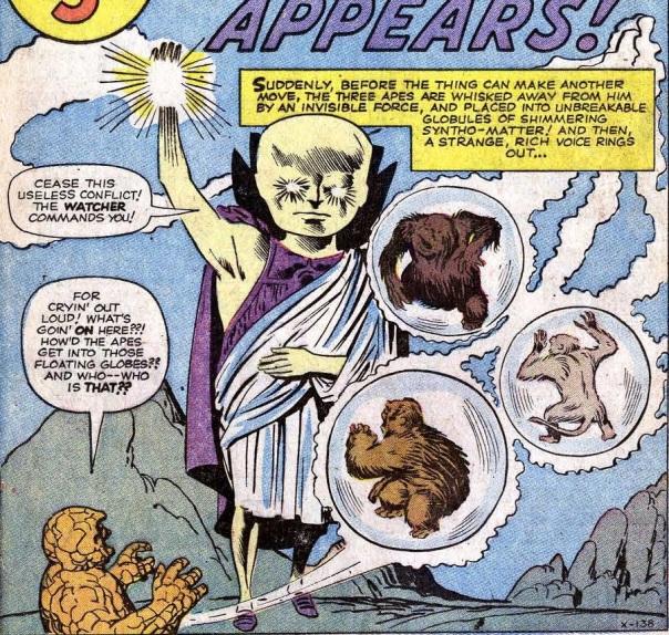 Uatu, the Watcher first appears!